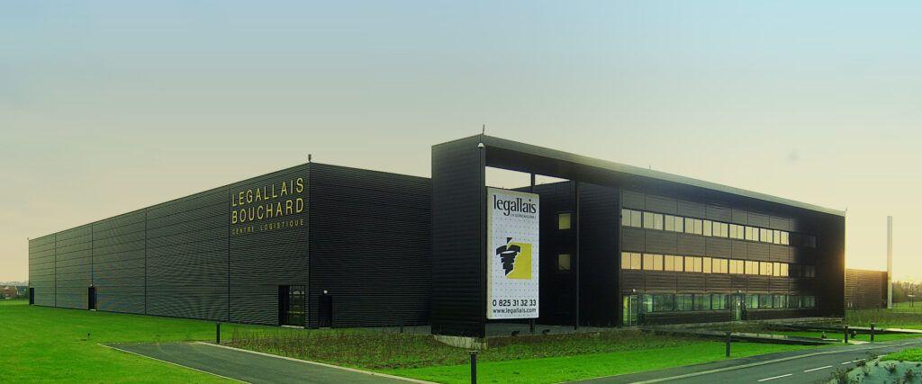 Immeuble logistique Legallais Bouchard - Saint-André-sur-Orne - Caen la Mer