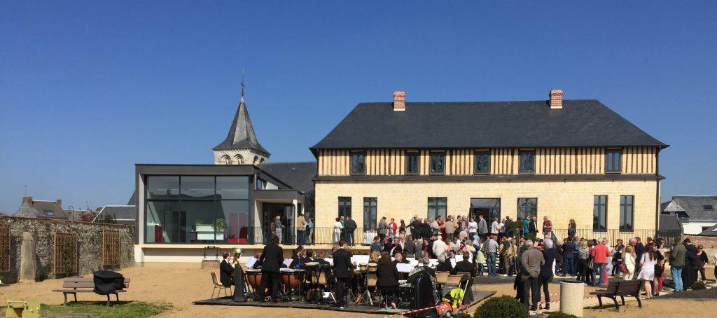 Inauguration de la Mairie - Angerville l Orcher le 8 avril 2017